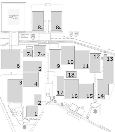 Energy Storage Europe 2018 fairground map: OA Hall 8