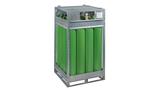 Compressed gas cylinder bundle 200 bar