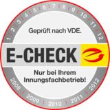 E-Check vom Fachmann in Würzburg
