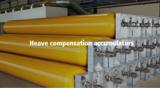 Heave compensation accumulators